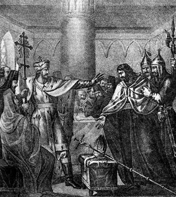Великий Князь Василий Темный отвергает  соединение ПРАВОславной Церкви с латинской ЛЖЕцерковью (с латинянским ЖИДОВСТВОМ)